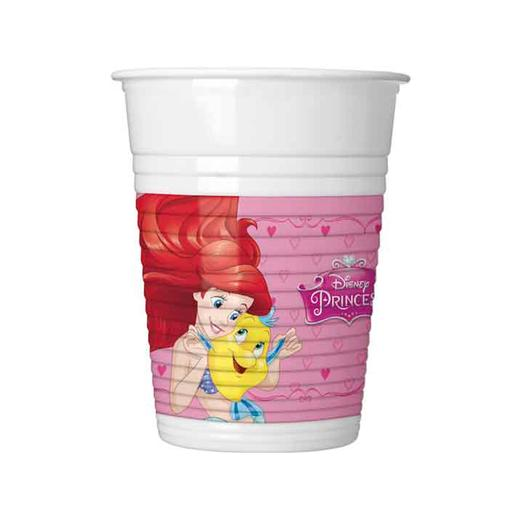 Princesas Disney - Pack 8 Vasos
