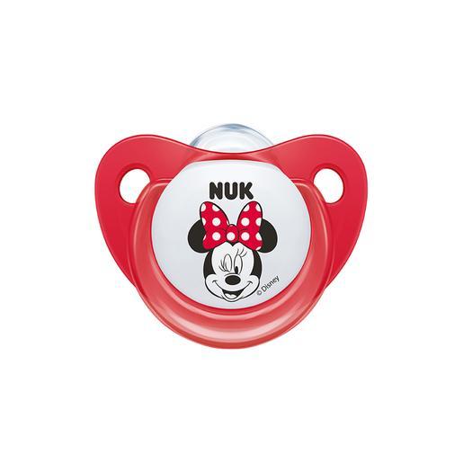 Nuk - Mickey Mouse - Pack 2 Chupetes de Silicona 0 a 6 Meses (varios modelos)