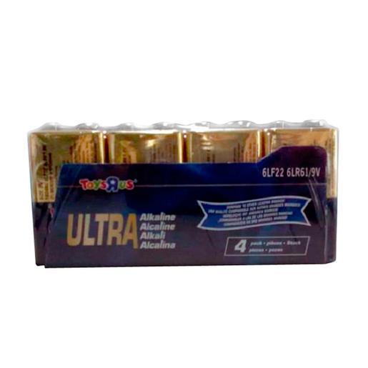 Ultra - Pack 4 pilas 9V Ultra Alcalinas