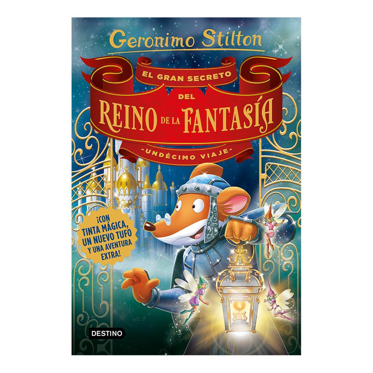 Geronimo Stilton - El Gran Secreto del Reino de la Fantasía ...