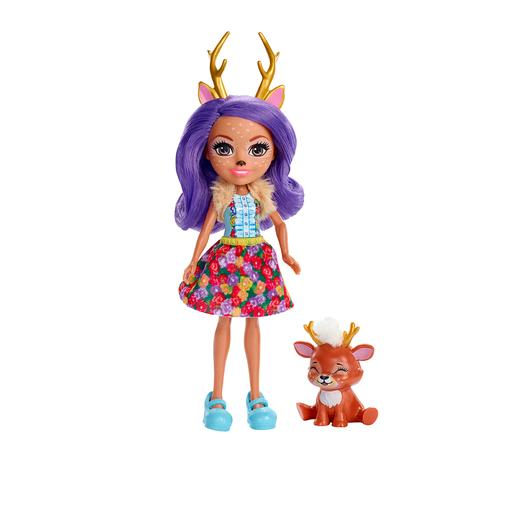 Enchantimals - Danessa Deer y Sprint - Muñeca y Mascota