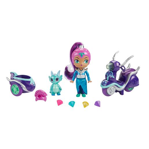 Fisher Price - Shimmer y Shine - Zeta y su Moto