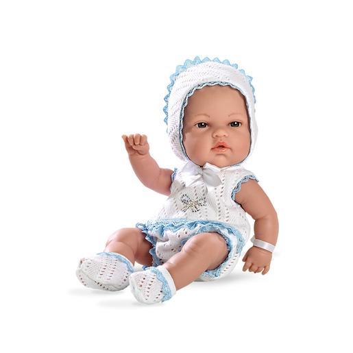 Bebé con Primera Puesta Elegance Swarovski Azul