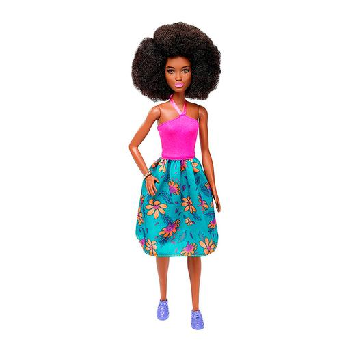 Barbie - Muñeca Fashionista - Falda Tropical