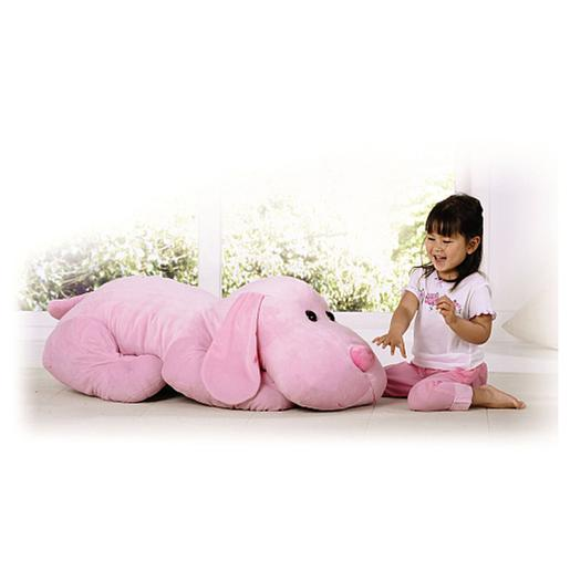 Animal Alley - Peluche Perro Sammy Rosa 110cm