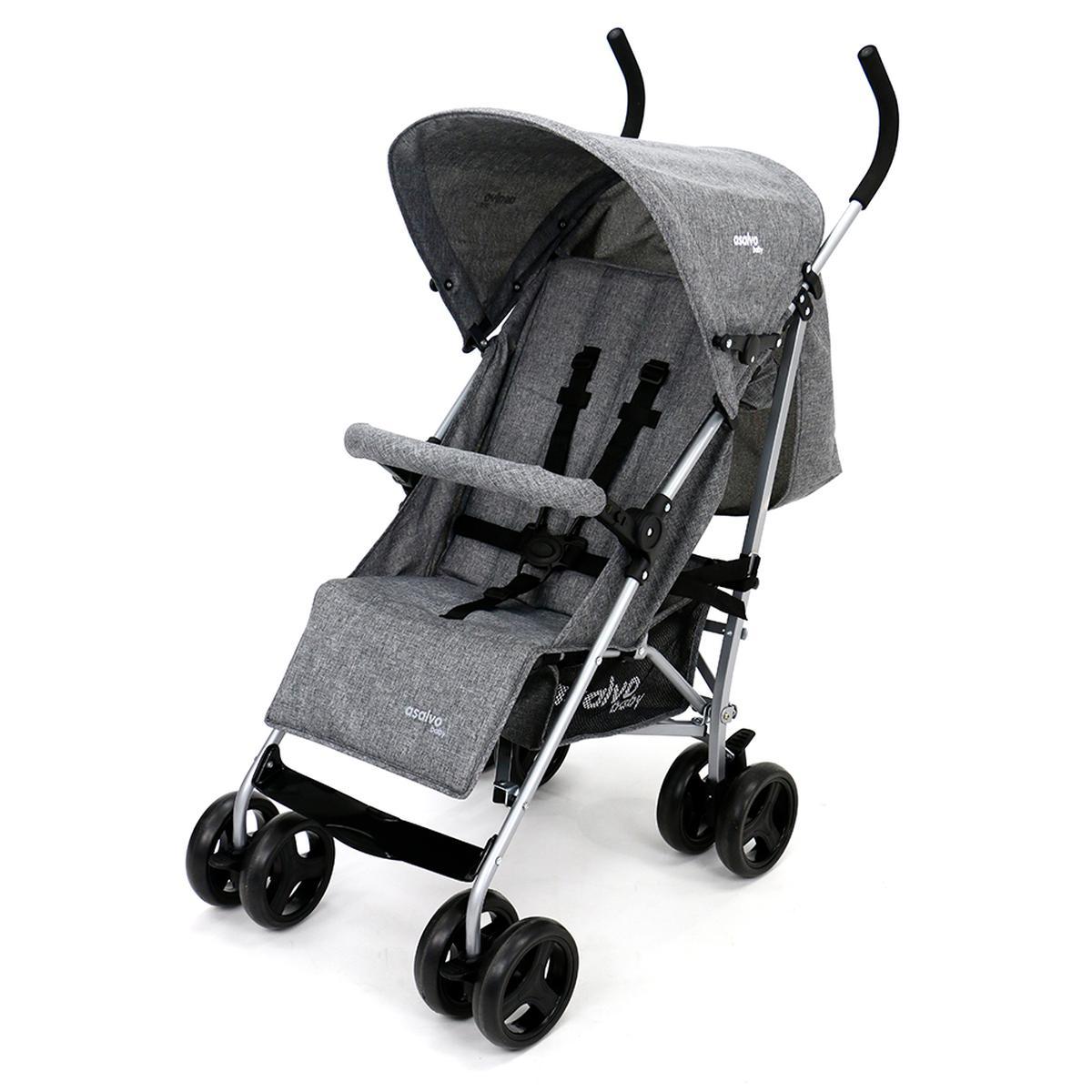 color Beige Silla de paseo Asalvo Yolo cochecito de bebé silla ligera
