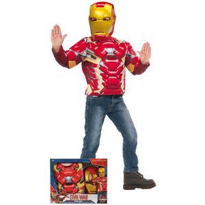 Los Vengadores – Iron Man – Disfraz Infantil en Caja 5-6 años