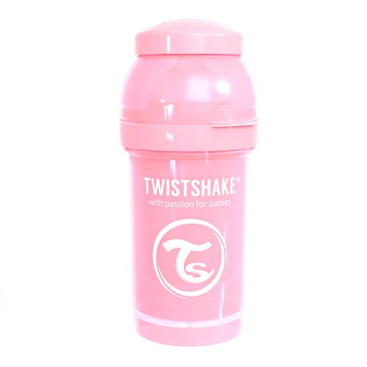 Twistshake - Biberón 180 ml - Rosa