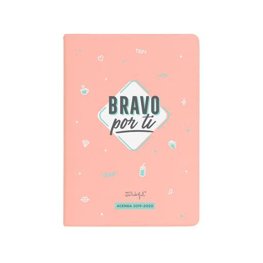 Mr. Wonderful - Bravo Por Ti - Agenda Clásica Pequeña 2019-2020
