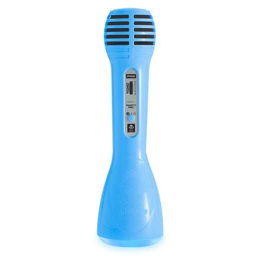 Micrófono con Bluetooth Azul