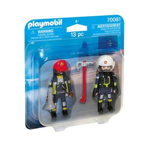 Playmobil – Dúo Pack Bomberos  – 70081