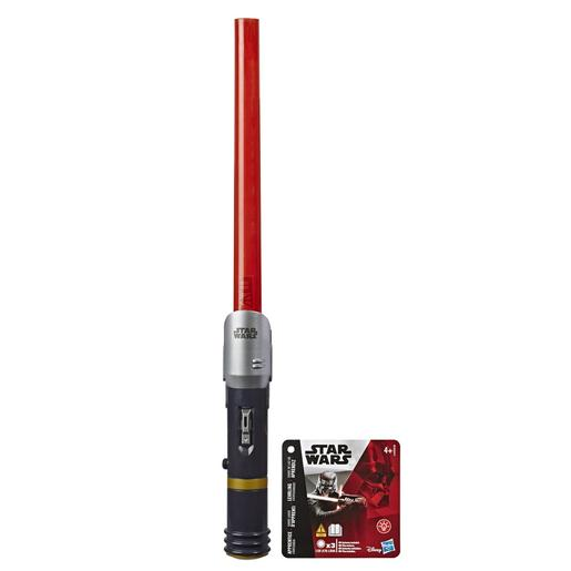 Star Wars - Sable Extensible Rojo
