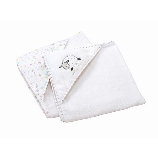 Pack 2 Capas de Baño Counting Sheep