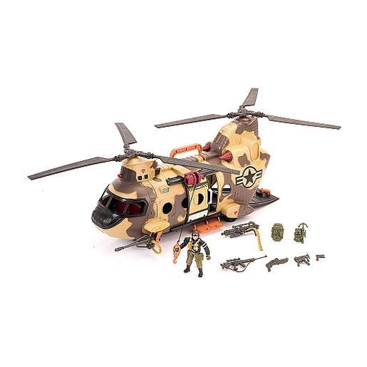 True Heroes - Helicóptero con Soldado