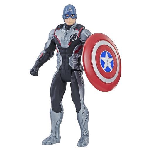 Los Vengadores - Capitán América Figura Team Suit