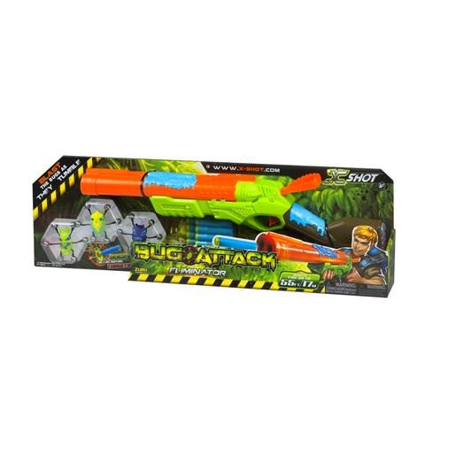X-Shot - Pistola Bug Attack Eliminator con Accesorios