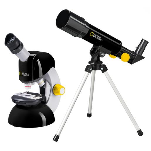 National Geographic - Set Telescopio 50 y Microscopio