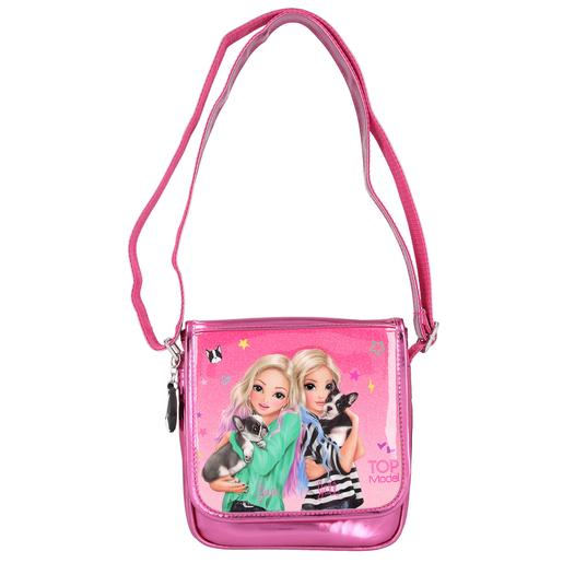 Top Model - Bolso Bandolera Friends Rosa