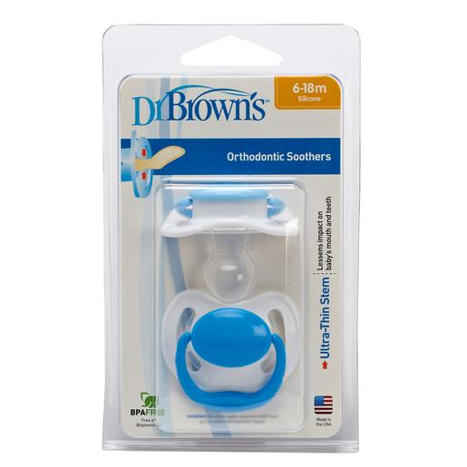 Dr. Brown's - Chupete Orthodontic Classic T2 (varios colores)