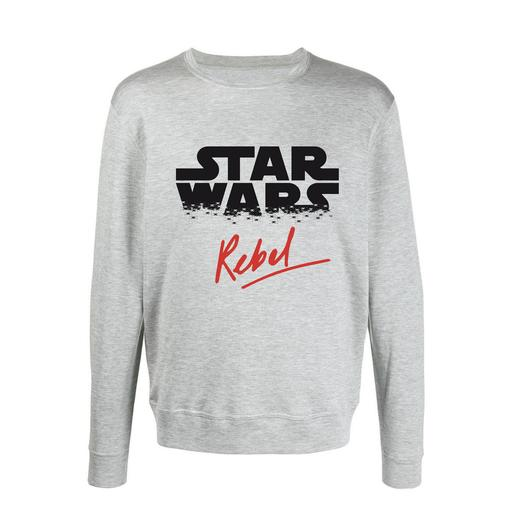 Star Wars - Sudadera Star Wars Rebel Gris Talla M