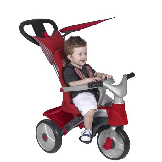 Feber - Baby trike easy evolution rojo