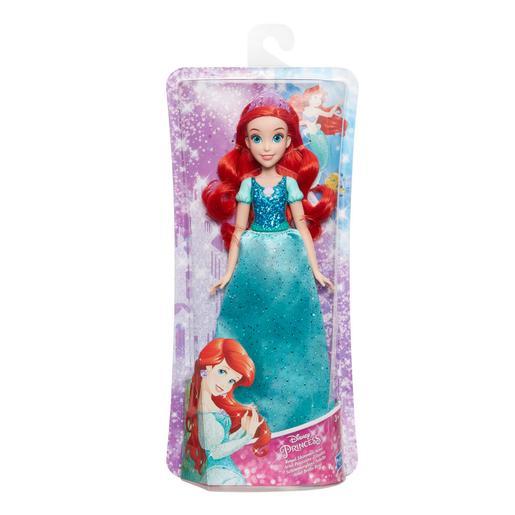 Princesas Disney - Ariel - Muñeca Brillo Real