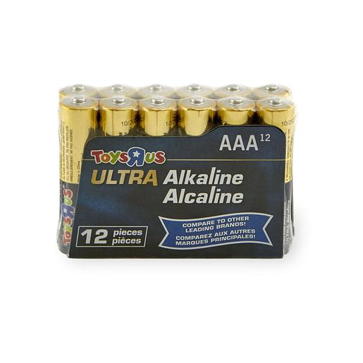 Ultra - Pack 12 Pilas AAA Ultra Alcalinas