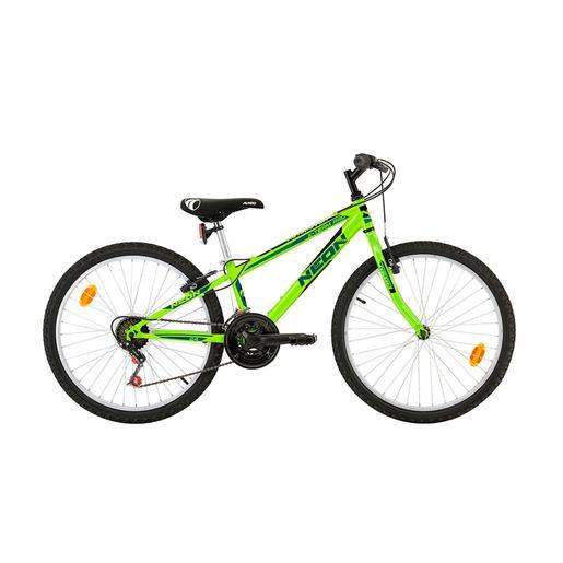 Avigo - Bicicleta Neón 24 Pulgadas Verde