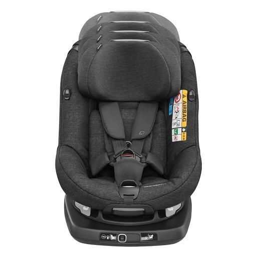 Bébé Confort - Silla de Coche i-Size AxissFix Plus Nomad Black (De 45 a 105 cm)
