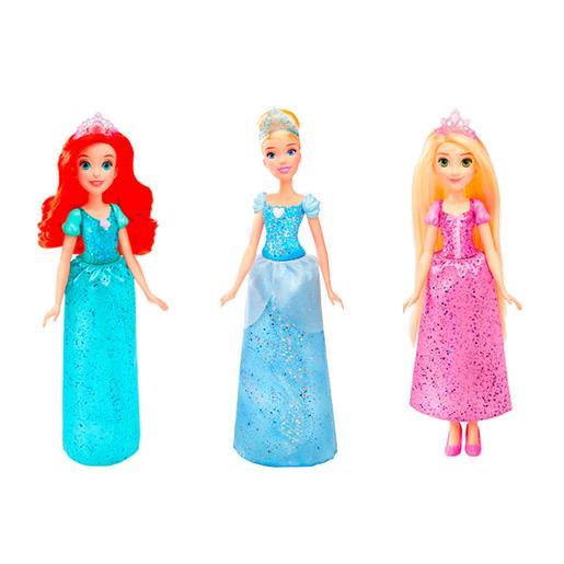 Princesas Disney - Ariel, Cenicienta y Rapunzel - Pack Princesas Brillo Real