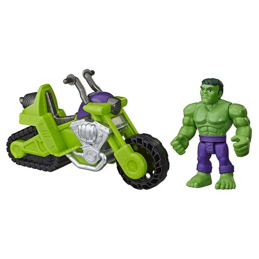 Marvel - Hulk y Moto Tanque Super Hero Adventures