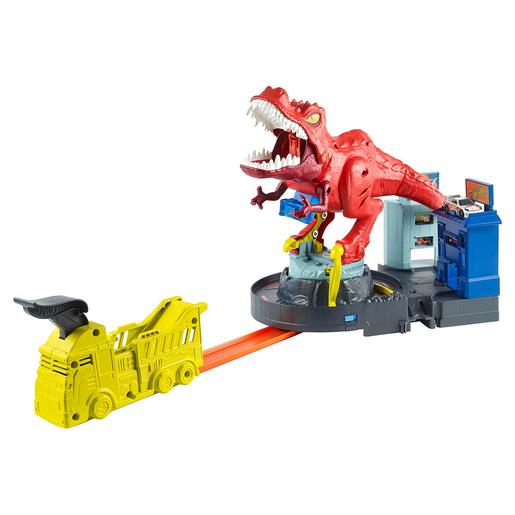 Hot Wheels - T-Rex Rampage devorador destructor