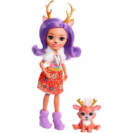 Enchantimals - Danessa Deer - Muñeca y Mascota