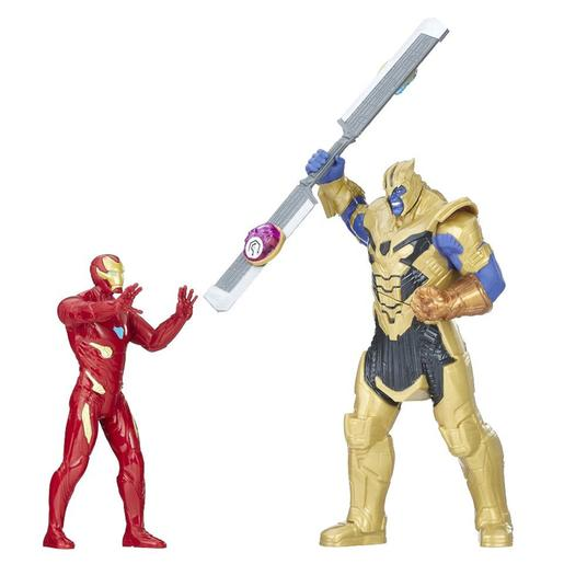 Los Vengadores - Iron Man vs Thanos