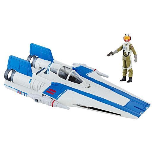 Star Wars - A-Wing de la Resistencia - Vehículo Clase B 9 cm