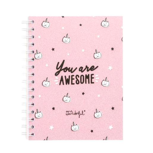Mr. Wonderful - You Are Awesome - Libreta