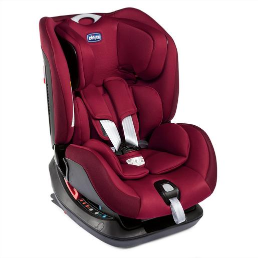 Chicco - Silla Coche Sirio 012 (Gr.0+/1/2) Isofix Red Passion Chicco