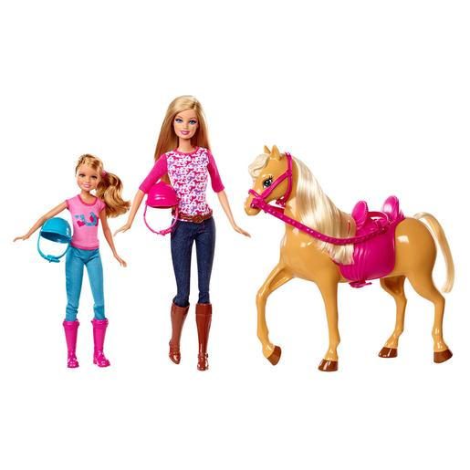 Barbie - Barbie y su Hermanita con Caballo