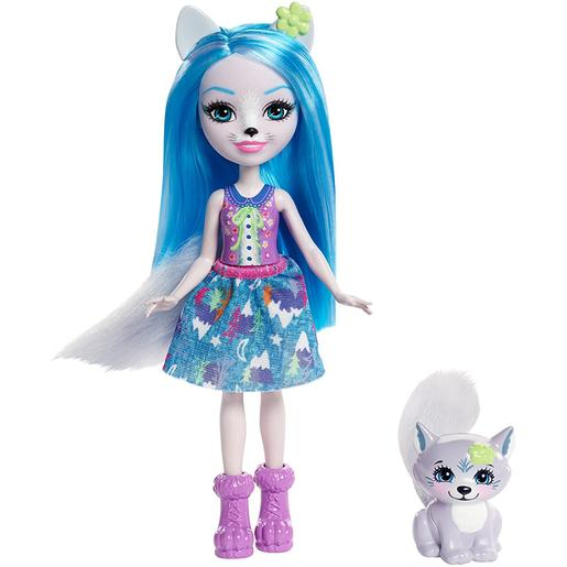 Enchantimals - Winsley Wolf - Muñeca y Mascota
