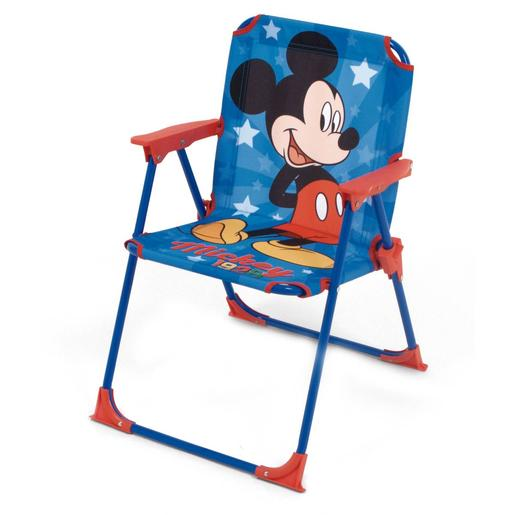 Mickey Mouse - Silla Plegable con Brazos