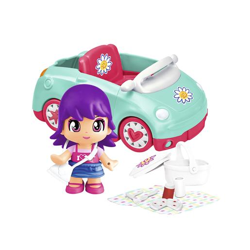 Pinypon - Pack Figura y Coche