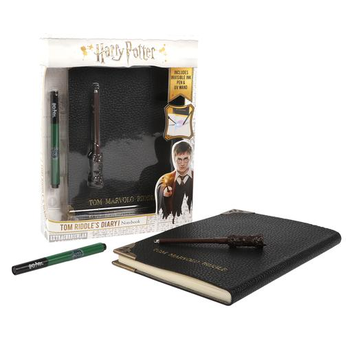 Harry Potter - Kit Diario Mágico de Tom Riddle con Bolígrafo Invisible y Varita