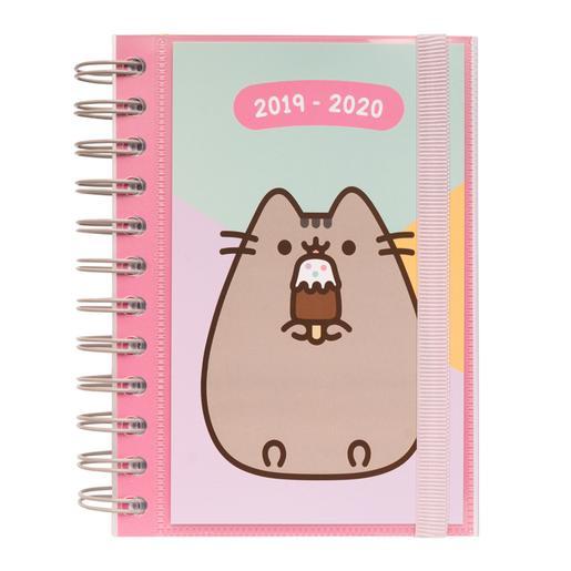 Pusheen - Agenda Escolar 2019-2020 - Helado