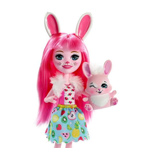Enchantimals - Muñeca con Mascota - Bree Bunny y Twist