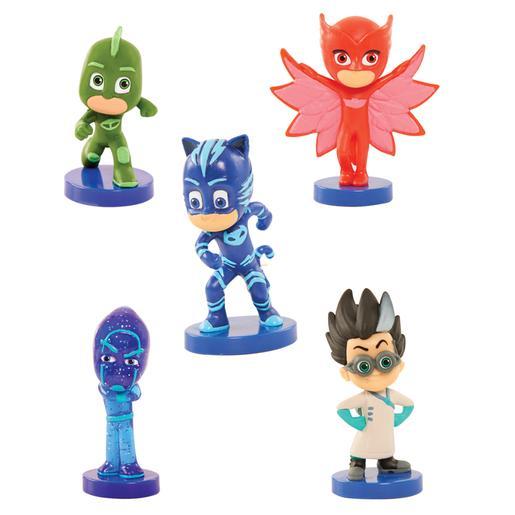 PJ Masks - Mini Figuras Coleccionables Deluxe