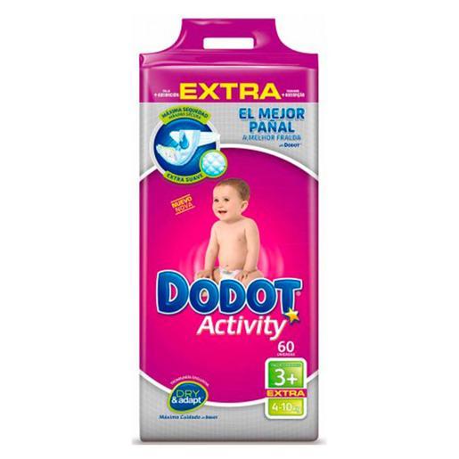 Dodot - Pañales Activity Extra T3 (7-11kg) 60 Unidades