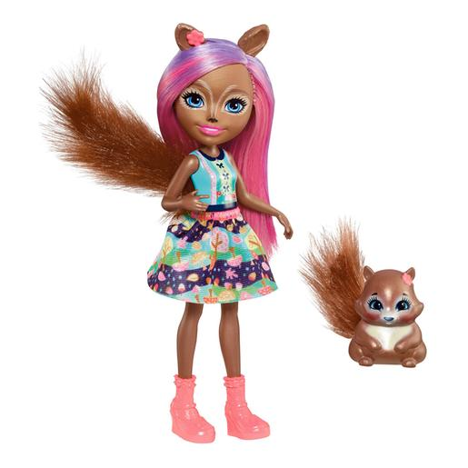 Enchantimals - Muñeca Sancha Squirrel