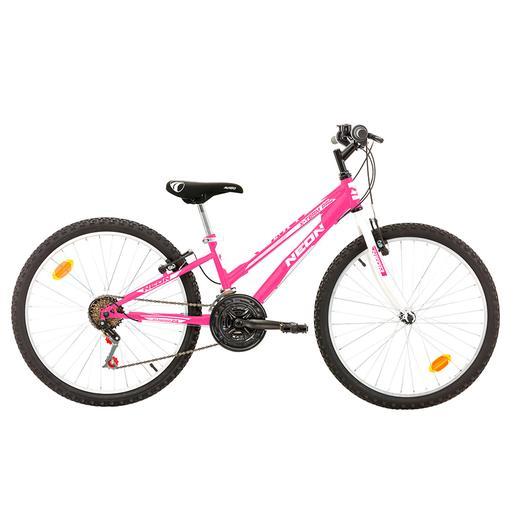 Avigo - Bicicleta Neón 24 Pulgadas Rosa