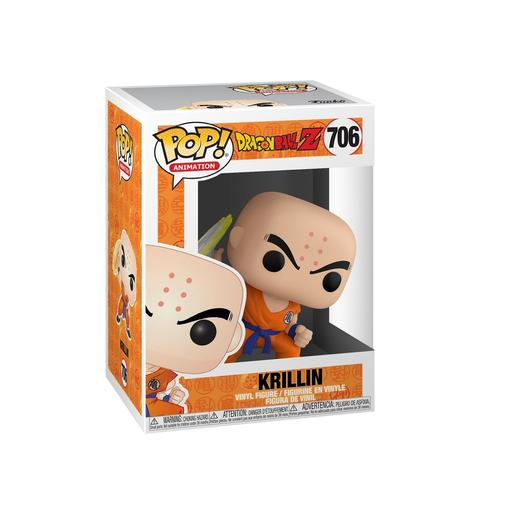 Dragon Ball - Krillin con Disco Destructor - Figura Funko POP