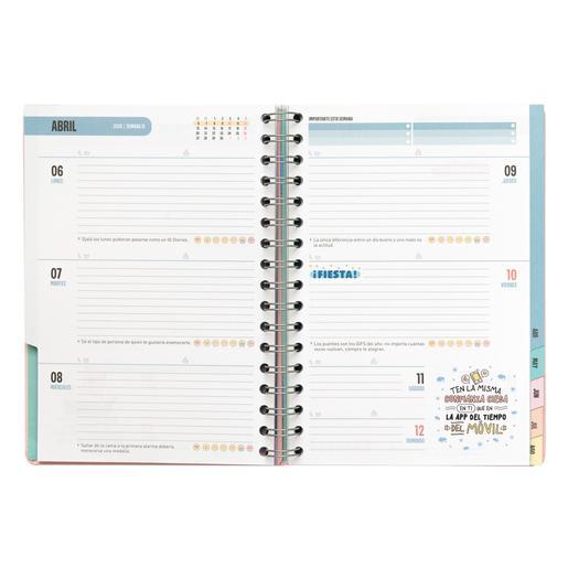 Calendario Mensual Mr Wonderful.Mr Wonderful 365 Dias Fantasticos Agenda Clasica 2019 2020
